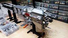 Omega Destroyer WIP 7: More Guns! (Rphilo004) Tags: lego shiptember 2016 omega class destroyer babylon 5
