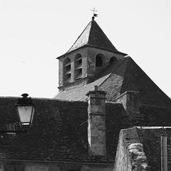 Eglise Sainte-Eulalie (Phil_Heck) Tags: glise clocher monument architecture toit extrieur noiretblanc monochrome btiment ardoise patrimoine aveyron