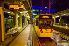 MediaCityUK2016.08.20-21 (Robert Mann MA Photography) Tags: salford quays mediacityuk manchester greatermanchester manchestercitycentre city citycentre architecture cities summer 2016 saturday 20thaugust2016 manchestermetrolink metrolink tram trams night nightscape nightscapes