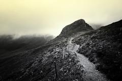 Col de Rombiere (Thomas Vanderheyden) Tags: bw blackandwhite brouillard brume cantal fog france fujifilm landscape montagne mountain nature noiretblanc paysage roc roche samyang12mm thomasvanderheyden xt1