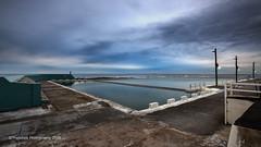 Newcastle Baths (The0dora Photography) Tags: the0doraphotography canon5d3 canon1635f4 newcastle swimming sky beach ocean hdr