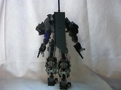 The Adversary 7 (quartzroolz) Tags: quartz roolz moc big burly man bionicle robot toa titan android bustersword guns skull spider mask god thats alot over design