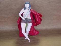 Study 2(A Battle for Liberty): (Zenshiro Toshinao) Tags: origami  paperfolding figure art