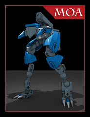 MOA Instructions (Sastrei87) Tags: instructions lego warframe moa mech bionicle blender indesign