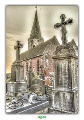 """NOTHING LEFT, BUT FAITH...""' (rgisa) Tags: glise church sainterasme sercus flandre vlaanderen nord tombe croix cross tomb"