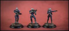 Imperial Service - Celestial Guard (feelinstrangelyfine) Tags: infinitythegame infinity yujing imperialservice sectorial miniatures miniaturepainting corvusbelli