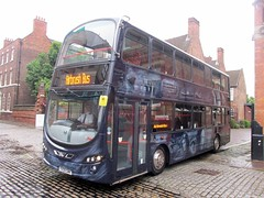 East Yorkshire 764 YX09GWK 'Keith Holmes' Gandhi Way, Hull at Big Bus Day 2016 (10) (1280x960) (dearingbuspix) Tags: eastyorkshire eyms 764 bigbusday bigbusday2016 airbrushbus keithholmes britcom yx09gwk