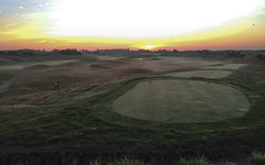 Early start on the Golf National (NaPCo74) Tags: golf golfing saint st quentin en yvelines france guyancourt national open cup championship ariane trophy morning sunset sun sunshine brouillard brume matin renault technocentre paris magny les hameaux iphone photo picture 5s 5c 5