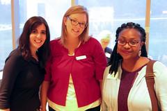 Susan Friedman, Heather Johnson-Banks and Nicole Thomas