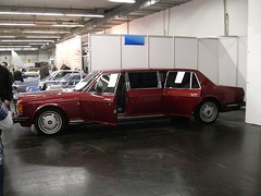 Rolls Royce Silver Spirit Limousine (911gt2rs) Tags: messe eseen stretch stretchlimo rot red spur bentley