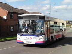 First Potteries 67635 - VX54 MPU (North West Transport Photos) Tags: first firstbus potteries firstpotteries transbus adl alexanderdennis dennis enviro e300 enviro300 67635 vx54mpu bus
