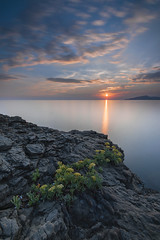 s.anna sunset (Loris Geremia) Tags: sestrilevante tramonto liguria seascape mare sunset rivieradilevante sea