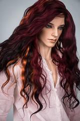 Gothic Cherry (Amadiz) Tags: wig wigs amadiz amadizstudio bjd abjd doll dolls tan iplehouse hairstyle fashion leonard