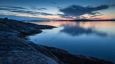 Dusk (Per-Karlsson) Tags: island stillness tranquility water sea seascape colours rocks waterscape coast sweden swedishwestcoast bohusln bohuslan marstrand kon skagerrak archipelago scandinavia