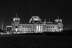Reichstag, Berlin, Germany (ajayem) Tags: flikr ol travel photography canon canon60d sigma35mm sigma35art reichstag government germany deutscshland berlin sommer summer fall autumn memorial blackandwhite blackandwhitephotography