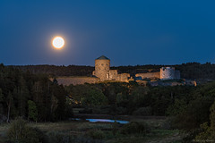 DSC_2369_1280 (Vrakpundare) Tags: sweden sverige bohus castle fstning bohusfstning fullmoon