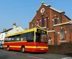 And finally ... (Renown) Tags: bus singledecker midi dennis dart plaxton reeveburgess pointer pmt potteries 917 idc917 preserved preservation rbw reliancebusworks heritage restored pops j917seh