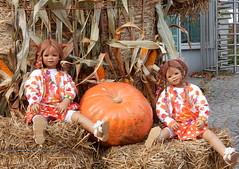 Tivi mit Anne-Moni ... (Kindergartenkinder) Tags: dolls himstedt annette kindergartenkinder essen park gruga personen kind outdoor tivi annemoni krbis herbst oktoberfest