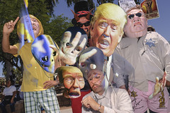 Take a look at these hands (GC_Dean) Tags: trump protest photomontage hand hands donaldtrump janbrewer sheriffjoe sheriffjoearapaio protesters protestmarch proimmigration charicature distortion skull skulls mexican hispanic latino border pinkunderwear badge eldiablo devil oppression phoenix arizona