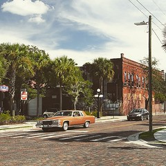 Tampa Florida (ralphontravel) Tags: car tampa florida ybor historic downtown usa palmtrees street