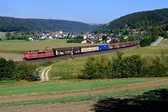 151 168 Breitenfurt (4682) (christophschneider1) Tags: kbs990 breitenfurt altmhltal oberbayern dbcargo ga52816 audi autoteile 151 151168