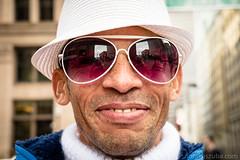 Untitled (Nora Kaszuba) Tags: white hat glasses turtleneck faneuilhall bostonmassachusetts fujixt2 man streetportrait outdoor