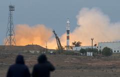 Expedition 49 Launch (NHQ201610190012) (NASA HQ PHOTO) Tags: kazakhstan baikonur roscosmos baikonurcosmodrome expedition49launch kaz expedition49 nasa joelkowsky soyuzms02