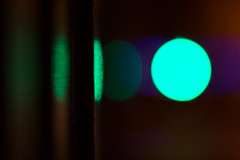echoes (mjwpix) Tags: echoes michaeljohnwhite mjwpix abstract artificiallight trafficlights reflection bokeh aqua ef135mmf2lusm canoneos5dmarkiii