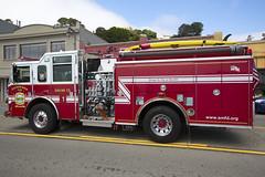 South Marin Fire Department (IanMackie) Tags: california usa firetender fire tender sausalito marincounty engine vehicle