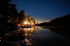 evening time at the lake [EXPLORE Oct 3, 2016] (Ula_Jay) Tags: ninemilelake muskoka ontario canada yourstodiscover lake stars