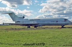 Boeing 727-2H3F C-GYFA Ottawa Airport Authority (First Air) (EI-DTG) Tags: planespotting aircraftspotting cgyfa 11sep2016 ottawa yow mcdonaldcartierairport trainer derelict boeing 727 b727 boeing727 firstair freighter firedump trijet