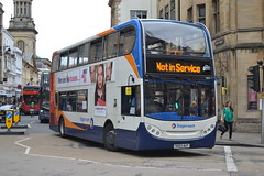 Stagecoach Oxford 10070 SK63AUT (Will Swain) Tags: oxford 6th september 2016 oxfordshire bus buses transport travel uk britain vehicle vehicles county country england english city centre stagecoach 10070 sk63aut