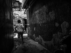 Walk out (Henry Sudarman) Tags: lumix gm1 petak9 petak9market market mirrorless humaninterest people street kota pl panaleica panaleica1517 panaleicadg1517 1517 blackandwhite hitamputih bw