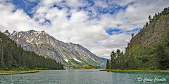 Atlin Lake (Colin Pacitti) Tags: lake aqua water sky clouds mountain conifer snow snowcapped wilderness outdoor atlinlake britishcolumbia canada coth coth5 sunrays5 ngc npc