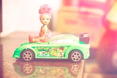 Barbie Syndrome (skvsree) Tags: barbiesyndrome car miniature splittone coimbatore macro helios44m toy