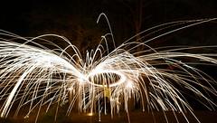 Madman! (notsophotogenic1) Tags: fire steel wool