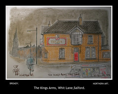 arms, whit lane salford broady 2016 (Broady - Salford art and photography) Tags: broady broadhurst pub beer ale kings arms salford manchester