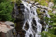 00159344 (wolfgangkaehler) Tags: 2016 northamerica northamerican usa unitedstates unitedstatesofamerica washingtonstate mtrainier mtrainierwa mountrainier mountrainierwa nationalpark mtrainiernationalpark paradise paradisemtrainier myrtlefalls waterfall