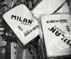 Gomas gigantes (M C VICARIO) Tags: flickrfriday squared milan gomadeborrar gigante ppep macromondays eraser
