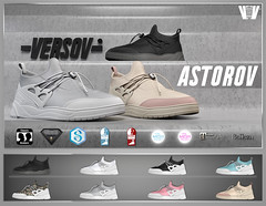 VERSOV ] ASTOROV edition available at Kustom9 event (VERSOV STORE) Tags: 3d mesh shoes aesthetic signature belleza maitreya tmp slink versov life second astorov