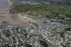 Perranporth in Cornwall - aerial image (John D F) Tags: perranporth cornwall coast aerial aerialphotography aerialimage aerialphotograph aerialimagesuk aerialview
