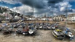 Ilfracome harbour.