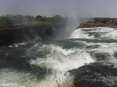 Edge of the falls, Victoria Falls, Zambia - Sept 2016 (Keith.William.Rapley) Tags: edgeofthefalls victoriafalls zambia zambezi zambeziriver waterfall river topofthefalls rapley keithwilliamrapley