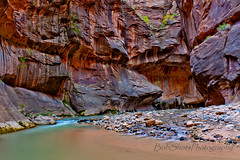 ZNP - Narrows (bobshotsphotography) Tags: outdoorphotography utah nikon nikkor2470f28 d700 nikonphotography canyons narrows rivers nationalparks zion zionnationalpark slotcanyons