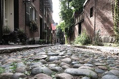 Acorn Street, Boston (RachelThomas424) Tags: acornstreet boston depthoffield america street outside