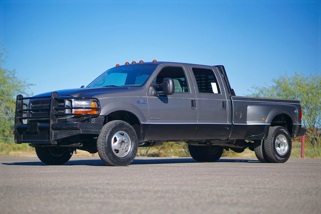 2002 ford f350 dually 4x4 diesel truck for sale. Black Bedroom Furniture Sets. Home Design Ideas