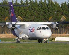 FedEx             ATR42          EI-FXC (Flame1958) Tags: shannon fedex atr federalexpress snn atr42 shannonairport 0413 airfreight smallpackage 2013 aircargo einn eifxc 290413