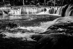 Chet Sao Noi Falls (Nathan A Rodgers) Tags: travel blackandwhite bw nature river thailand waterfall asia southeastasia countries waterfalls rivers travelphotography muaklek chetsaonoifalls
