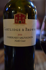 Cartlidge and Brown Cab (pjpink) Tags: red restaurant virginia spring wine richmond april rva cabernet 2013 pjpink continentalwesthampton
