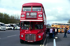 MBR28 Metrocentre Bus Rally - RML2686 Loading (HairyHippy) Tags: uk england film analog 35mm silver pentax unitedkingdom superia traditional gateshead fujifilm routemaster analogue dennis daimler chemical leyland asa400 bromide mesuper xtra tyneandwear metrocentre fujicolor atkinson aec busrally halide preservedbuses c41developer fujihunt